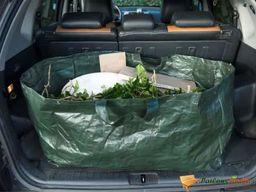 Nature Nature Worek na odpady ogrodowe, prostokątny, 225 L, zielony