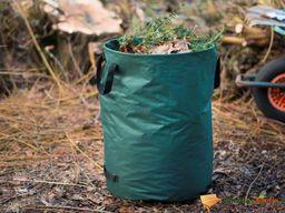 Nature Nature Worek na odpady ogrodowe, okrągły, 240 L, zielony
