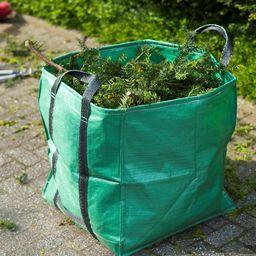 Nature Nature Ogrodowa torba na odpady, kwadratowa, zielona, 148 L