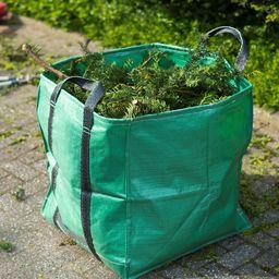 Nature Nature Torba na odpady ogrodowe, kwadratowa, zielona, 252 l, 6072405