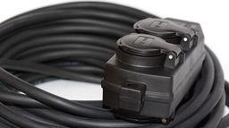 Hilark przedłużacz wzmocniony rozgałęźnik 5m H05VV-F 3x2,5 (918301214a/5/M)