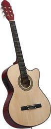 vidaXL Gitara akustyczna z wycięciem, 6 strunami i equalizerem