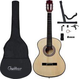 """vidaXL 12-częściowy zestaw do nauki gry na gitarze klasycznej 4/4 39"""""""