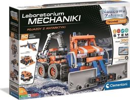 Clementoni Laboratorium Mechaniki Pojazdy z Antarktyki