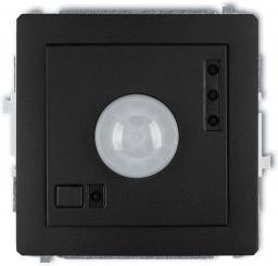 Karlik Deco czujnik ruchu elektroniczny czarny mat (12DCR-1)