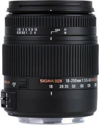 Obiektyw Sigma 18-250mm f/3.5-6.3 DC OS HSM Nikon (883955)