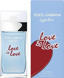Dolce & Gabbana Light Blue Love Is Love Pour Femme EDT 100ml