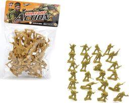 Askato Zestaw żołnierzyków plastikowych - 24 sztuki