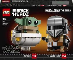 LEGO Brick Headz Star Wars Mandalorianin i dziecko (75317)