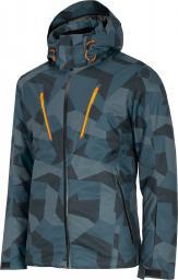 4f Kurtka narciarska męska H4Z20-KUMN007 niebieska r. L