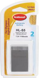 Akumulator Hahnel HL-S5 Olympus, 1150mAh, 7.2V, zamiennik