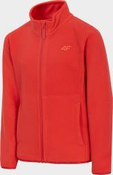 4f Bluza chłopięca HJZ20-JPLM001A czerwona r. 146