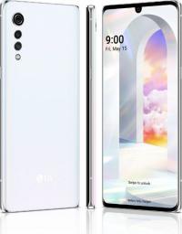 Smartfon LG Velvet 5G 128 GB Biały