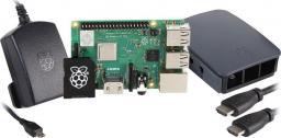 Raspberry Pi 3 model B+ 1GB RAM Official Starter Kit Black (RPI3-MODB+ HDMIOSK-BLK)