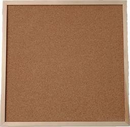 CETUS-BIS Tablica korkowa 60x60 drewno PINEZKI GRATIS !!!