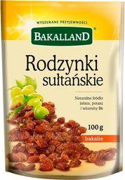 bakalland Rodzynki sułtańskie Bakalland 100g