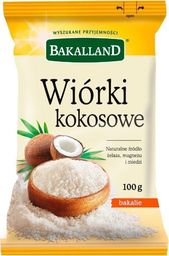 bakalland Wiórki kokosowe Bakalland 100g