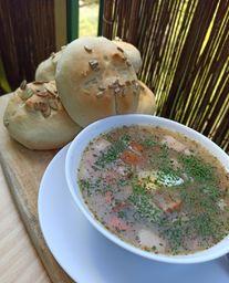 SYS BLANKA SYSIAK Zupa Żurek z borowikami