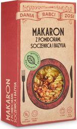 SYS BLANKA SYSIAK Makaron z pomidorami, soczewicą i bazylią