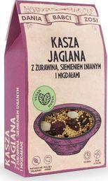 SYS BLANKA SYSIAK Kasza jaglana z żurawiną, siemieniem lnianym i migdałami