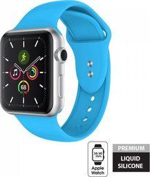Crong Crong Liquid Band - Pasek do Apple Watch 38/40 mm (niebieski)