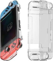 Baseus Etui 360 Baseus GS06 do konsoli Nintendo Switch (przezroczyste)