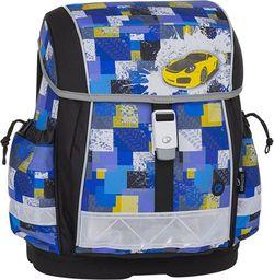 BAGMASTER Tornister szkolny Bagmaster Epson 8 B czarny + niebieski + żółty