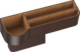 Baseus Organizer samochodowy Baseus Elegant Car Storage Box, skórzany (brązowy)
