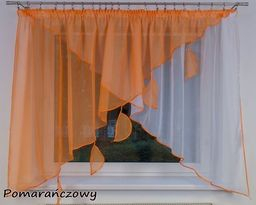 Fabryka Firan Firana Gotowa Grecja 300x140 Woal Firanka Pomarańczowa