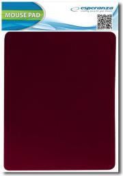 Podkładka Esperanza materiałowa duża czerwona   (EA145R)