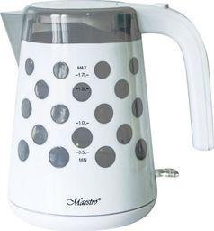 Czajnik Maestro Czajnik elektryczny Maestro MR045 1,7l, 2200W biały