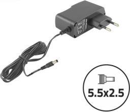 Qoltec Zasilacz sieciowy do monitorów LCD, routerów 10.5W, 5V, 2.1A (50034.10.5W)