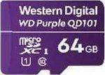 Karta Western Digital Purple MicroSDXC 64 GB Class 10 UHS-I/U1  (WDD064G1P0C)