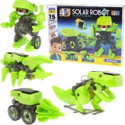 Robot Solarny 4w1 Dinozaur Zestaw Konstrukcyjny