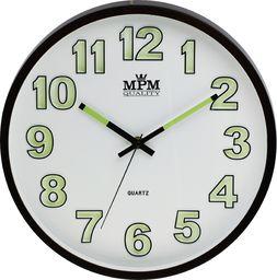 MPM Zegar Ścienny, Mech. Płynny, Świecący, 3219