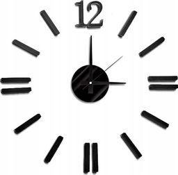 MPM Zegar Ścienny Diy, Cyfry 3d, Czarny, 3658
