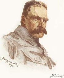 Plakat A3 - Józef Piłsudski - Jan Gumowski (1917 R.) Gplakjp10