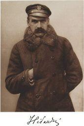Plakat A3 - Komendant I Brygady Legionów Polskich Józef Piłsudski, 1915 Gplakjp11