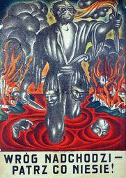 Plakat A3 - Wróg Nadchodzi Patrz Co Niesie A3-gplak1920-010