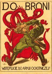 Plakat A3 - Do Broni. Wstępujcie Do Armji Ochotniczej! (smok) A3-gplak1920-005