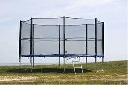 Trampolina ogrodowa z siatką 374cm