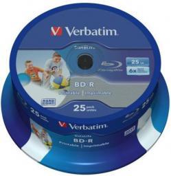 Verbatim BD-R 25GB 6X Cake 25 szt   (43811)