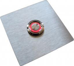 MT3CH Przycisk dzwonka do domofonu INOX LED 9/12/24/230V do słupka