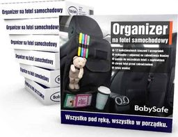 BabySafe Organizer na Fotel Samochodowy BabySafe