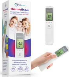 Termometr Helpmedi Bezdotykowy Termometr Na Podczerwień HFS-1000 Helpmedi