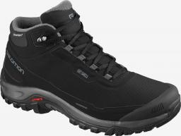 Salomon Buty męskie Shelter Cs Wp Black/Ebony/Black r. 42 2/3