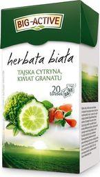 Big Active Herbata Big - Active biała z tajską cytryną i kwiatem granatu 20 torebek - 4szt.