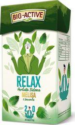 Big Active Herbata zielona Relax melisa z lawendą 20 torebek - 4 szt.