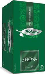 HERBAPOL Herbapol Herbata zielona Green kopertowana - Zielona 20 torebek - 4szt.