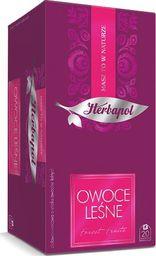 HERBAPOL Herbapol Herbata Breakfast kopertowana - Owoce Leśne 20 torebek - 4szt.